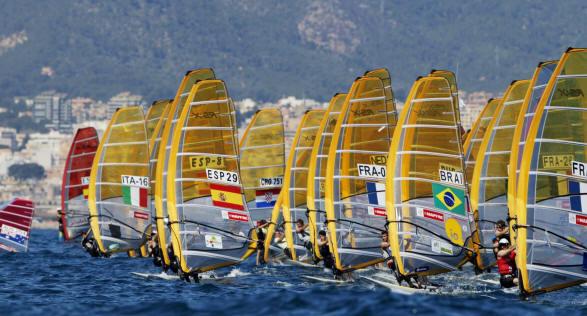vela olimpica  flavia tartaglini mantiene la seconda