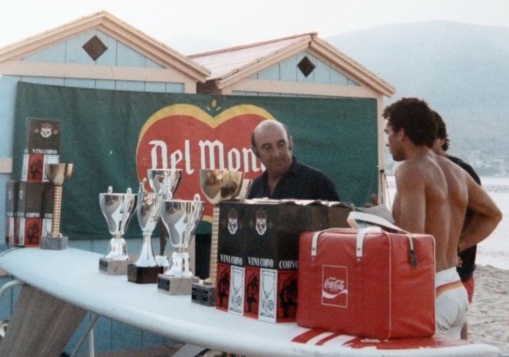 Mario Catalano, Pottino, premiazione