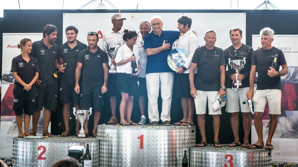 Melges 20 podio foto BPSE Barracuda