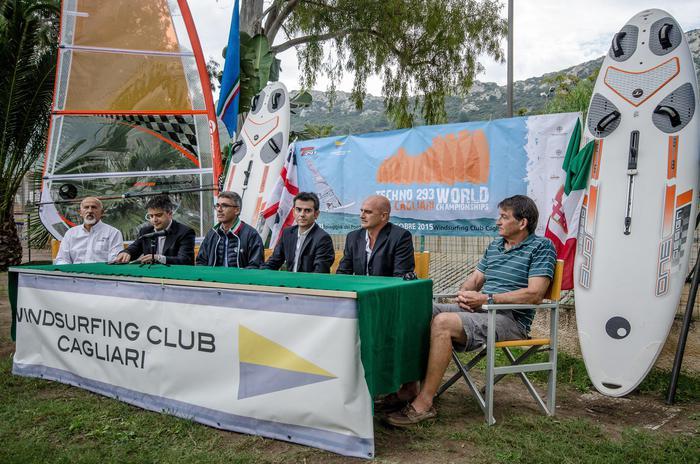Presentazione mondiali windsurf a Cagliari