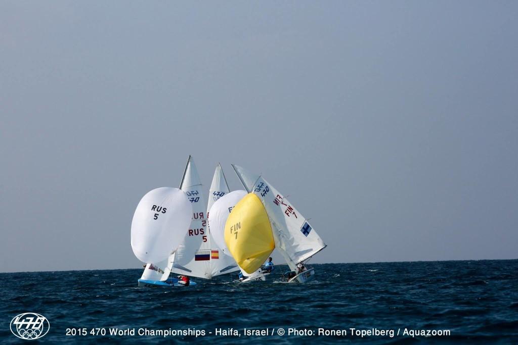 mondiali 470 medal race foto ronen topelberg aquazon