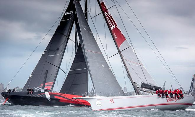 Alt_Wild Oats Xi and Comanche go to battle in 2014Credit Rolex_Kurt Arrigo