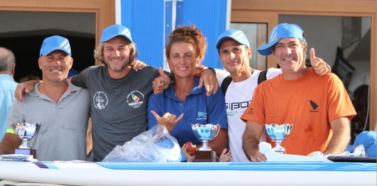 Alessandro Torzoni, Marco Casagrande, Celine Bordier, Samuele Montino e Riccardo Giordano.