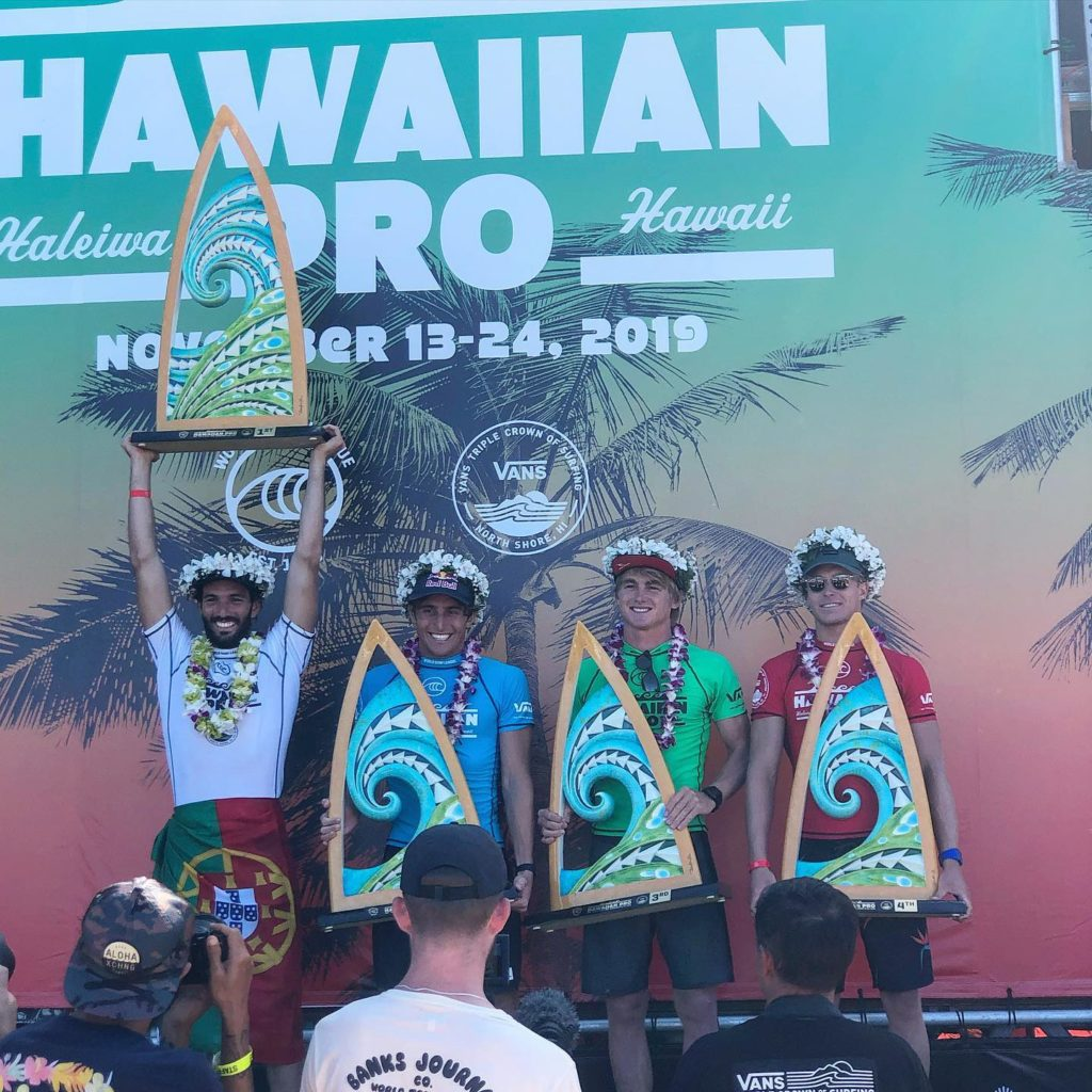 Contea Di Honolulu Hawaii surf: haleiwa hawaiian pro 2020 al portoghese morais